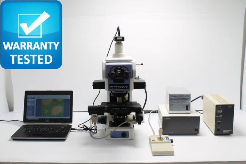 Nikon E800 Fluorescence Motorized Microscope
