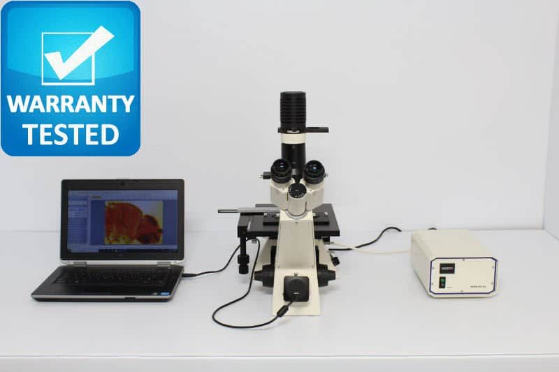 Zeiss Axiovert 25 CFL Inverted Fluorescence Phase Contrast Microscope Unit2