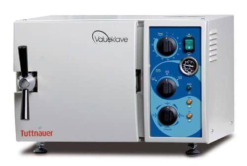 "1730 Tuttnauer Valueklave Manual Autoclave Sterilizer (7"" Chamber)"