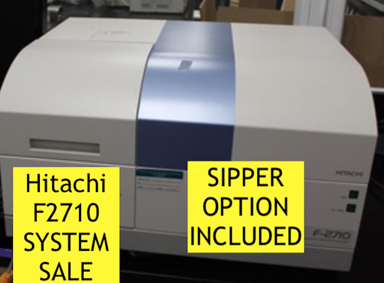 Hitachi F-2710 Hitachi F2710 Fluorescence Spectrophotometer used