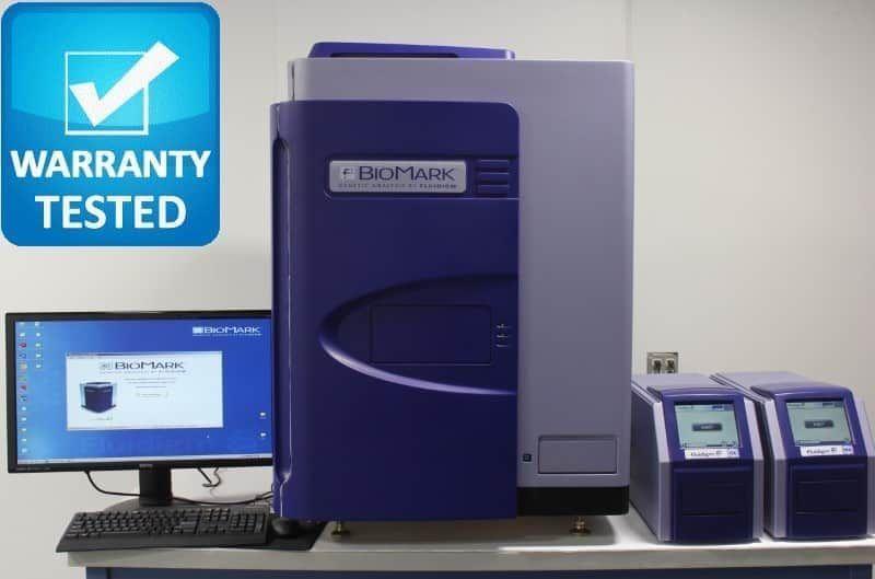 Fluidigm BioMark Real-Time PCR w/ HX,MX IFC Controllers Pred HD