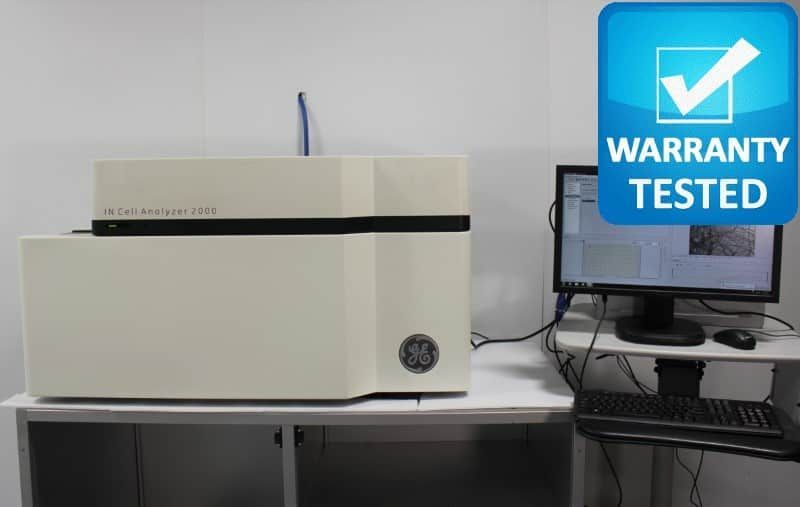 Cytiva GE IN Cell Analyzer 2000 Fluorescence Imaging INcell Pred 2500 2200 - AV