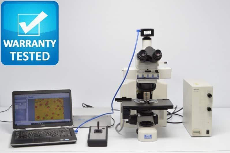 Nikon E600 Fluorescence Motorized Microscope