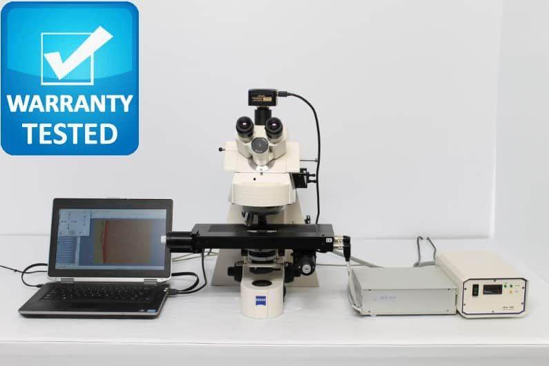 Zeiss Axioplan 2ie MOT Fluorescence Motorized Microscope