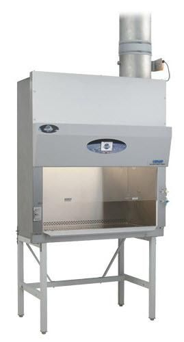 NuAire LabGard ES (Energy Saver) NU-435 Class II, Type B2 Biological Safety Cabinet Fume Hood