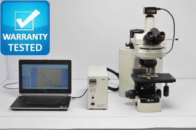 Nikon 80i Fluorescence Microscope