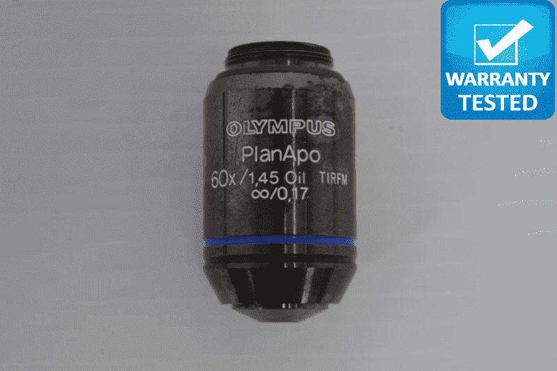 Olympus PlanApo 60x/1.45 Oil TIRFM Microscope Objective