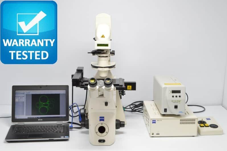 Zeiss Axiovert 200M Fluorescence Motorized Phase Contrast Microscope
