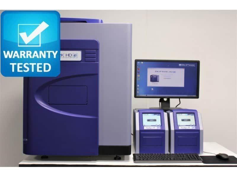 Fluidigm BioMark HD Real-Time PCR w/ HX, MX Controllers - AV