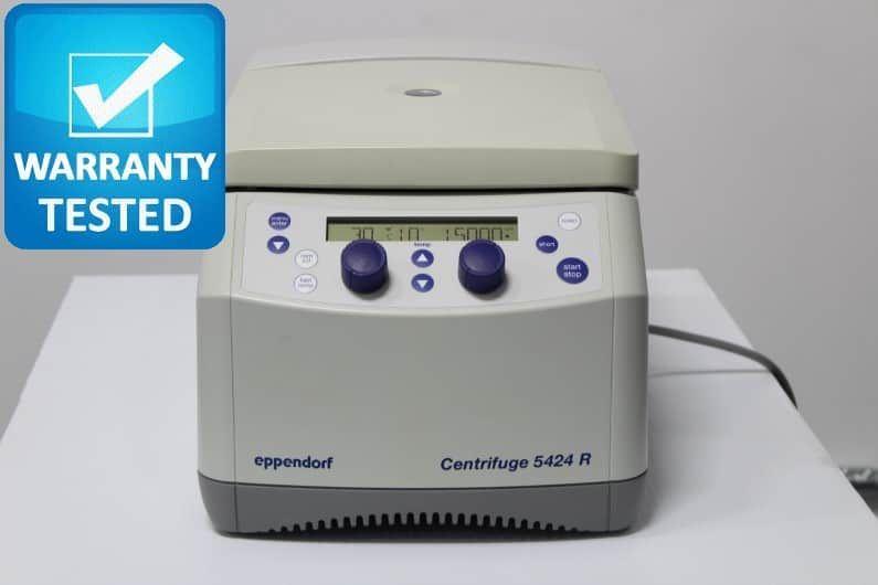 Eppendorf 5424 R Refrigerated Centrifuge w/ FA-45-24-11 Rotor - AV