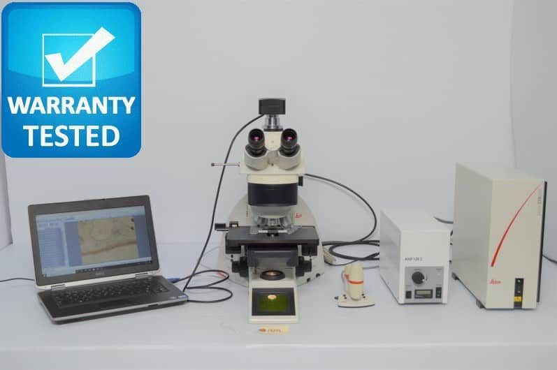 Leica DM6000 B Fluorescence Motorized Phase Contrast Microscope