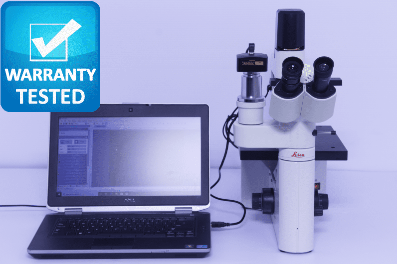 Leica DM IL Inverted Phase Contrast Microscope DMIL
