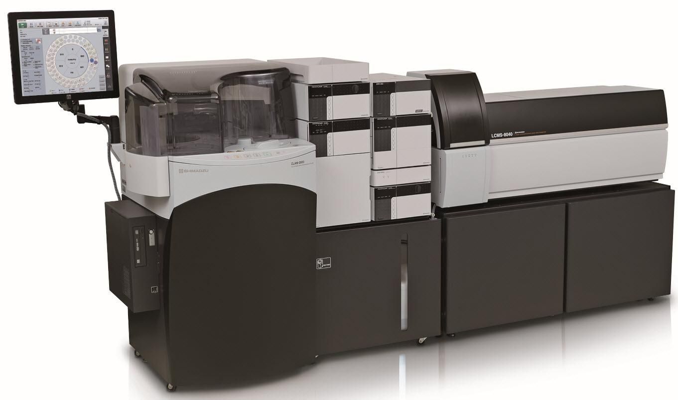 Shimadzu Scientific New Fully Automated Sample Pretreatment System