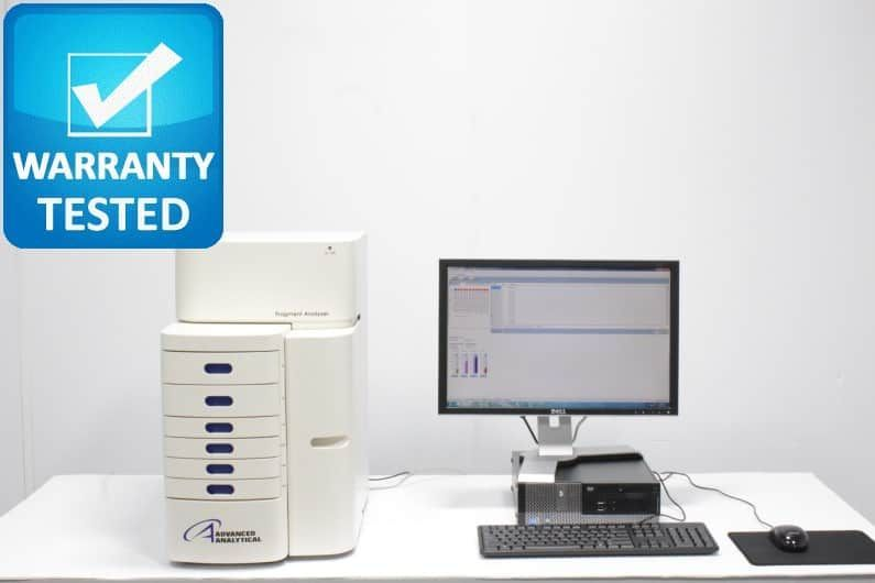 Agilent Advanced Analytical DNA/RNA Fragment Analyzer Capillary Electrophoresis Pred 5200 & 5300 - AV