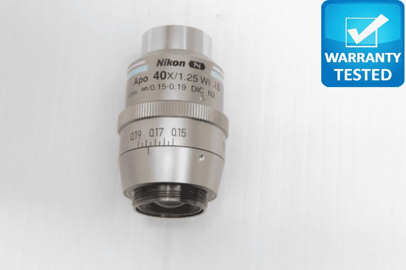 Nikon N APO 40x/1.25 Wi [lambda]S DIC N2 Microscope Objective MRD77400