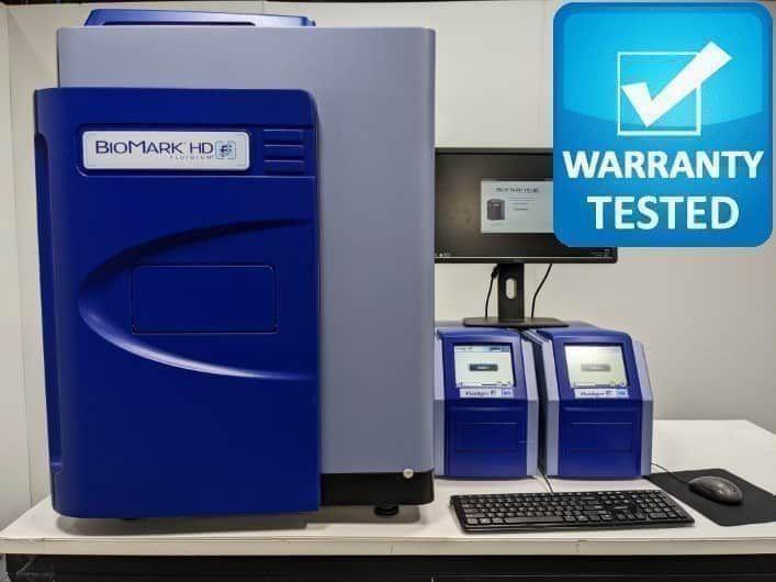 Fluidigm BioMark HD Real-Time PCR w/ HX, MX Controllers Unit2 - AV