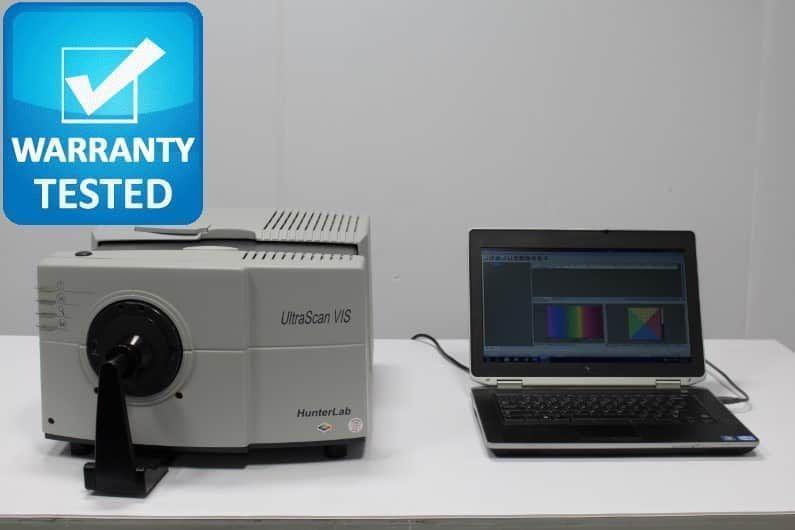 HunterLab UltraScan VIS Spectrophotometer Color Measurement