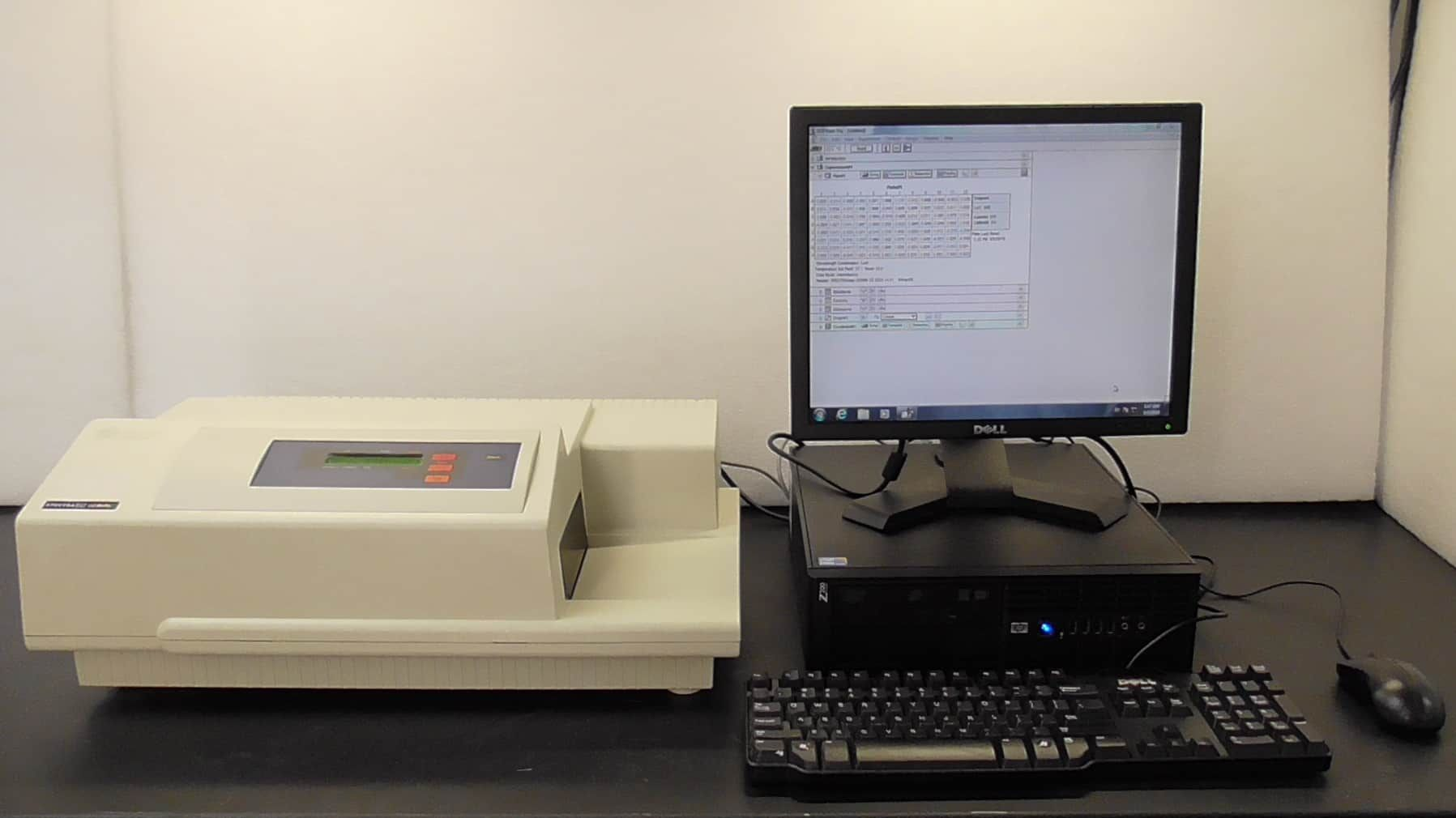 Molecular Devices Spectramax Gemini XS including software loaded PC, Monitor, Keyboard and Mouse
