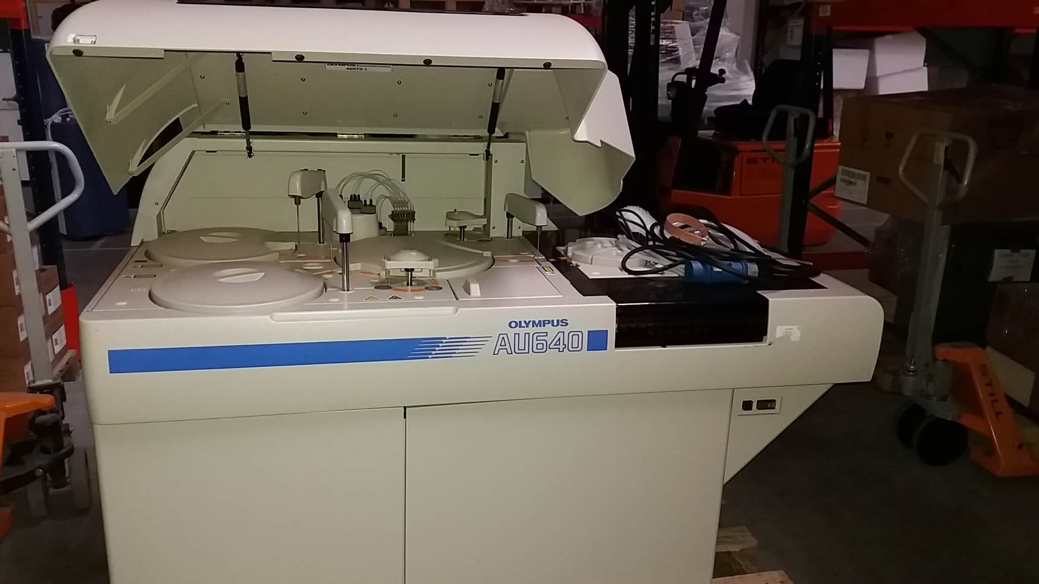 Beckman Coulter Olympus AU 600/640