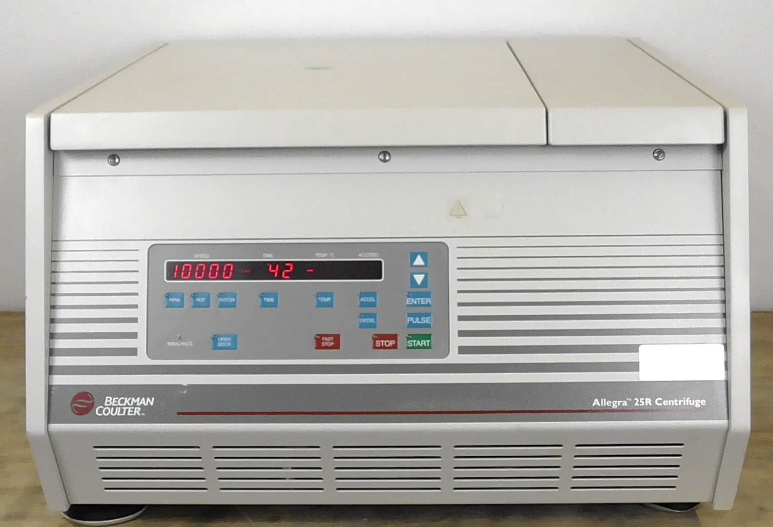 Beckman Coulter Allegra 25R Centrifuge with Rotor