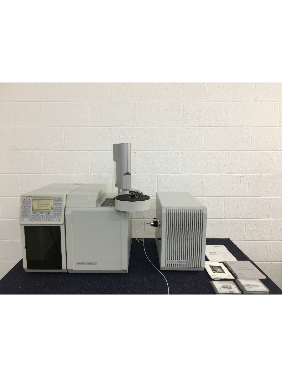 Varian CP-3800 Gas Chromatograph, Saturn 2200 GC/MS/MS & CP-8400 Autosampler