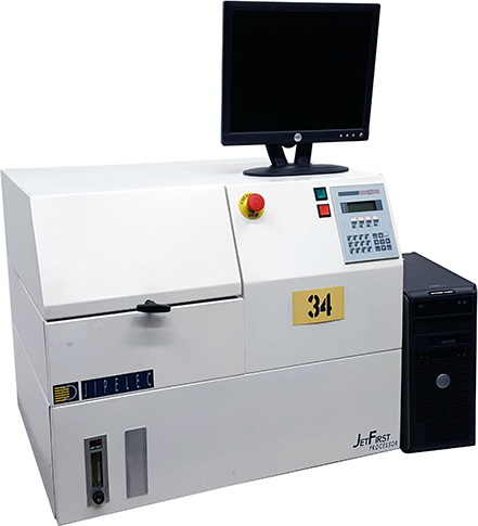 Jipelec JetFirst 150 RTP Rapid Thermal Processing System with Vacuum