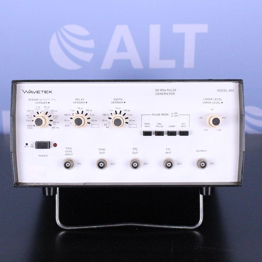 Wavetek Model 802 50 MHz Pulse Generator