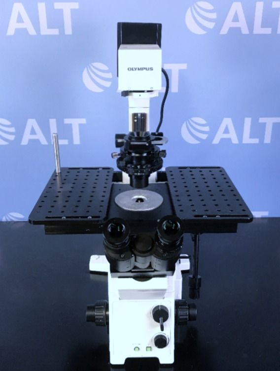 Olympus IX71 Research Inverted System Microscope