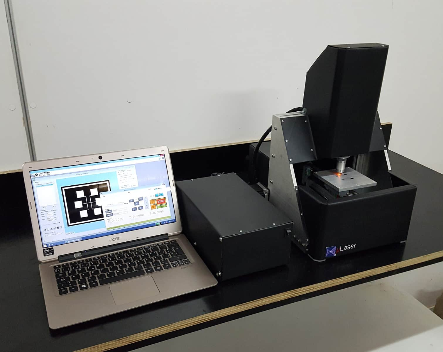 Mutech microlaser direct optical lithography system photomask writer