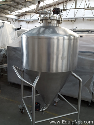 500 L STAINLESS STEEL VESSEL