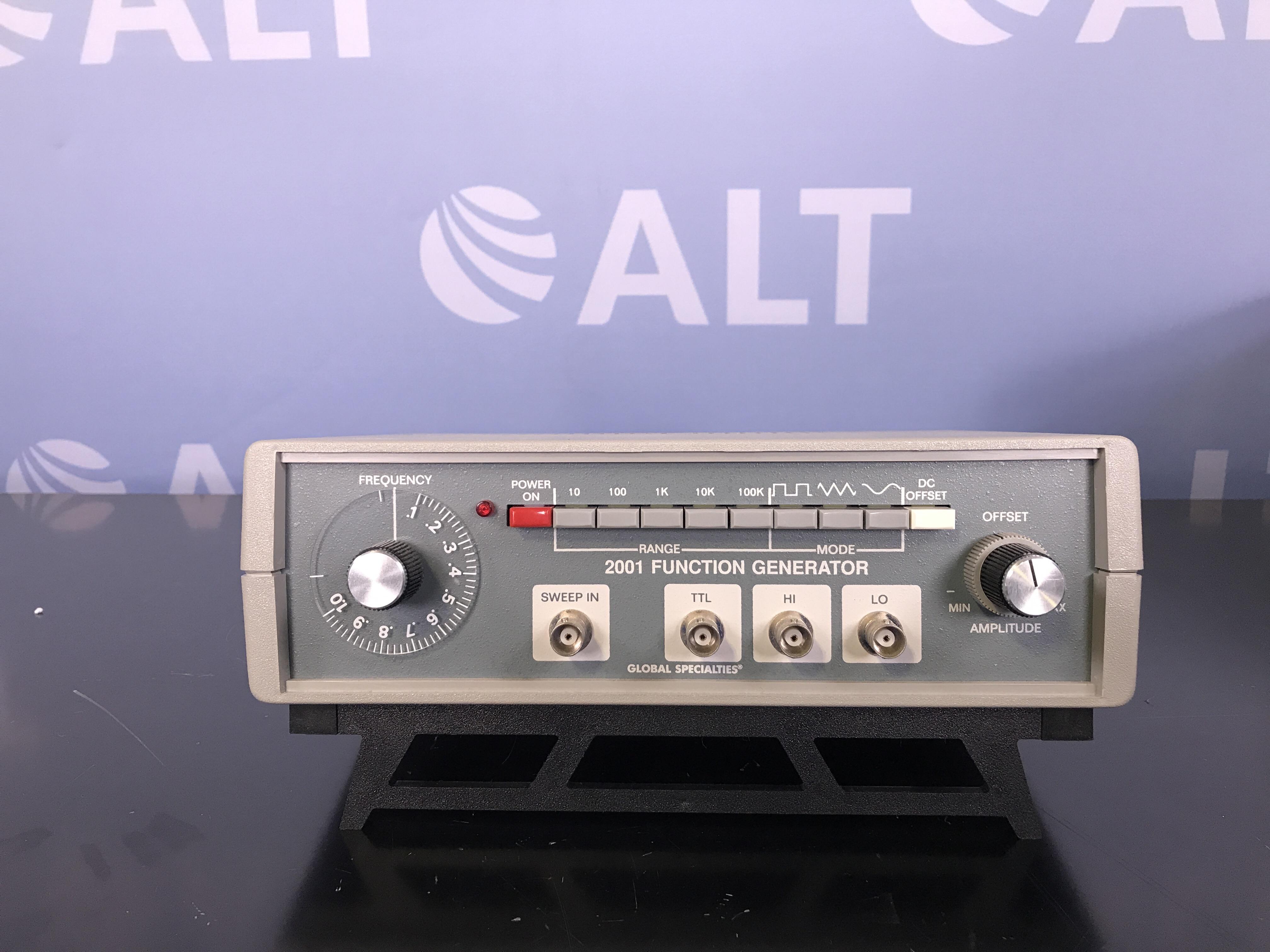Global Specialties 2001 Function Generator