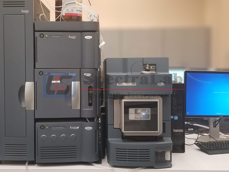 Waters XEVO TQD with Waters Acquity I Class uPLC