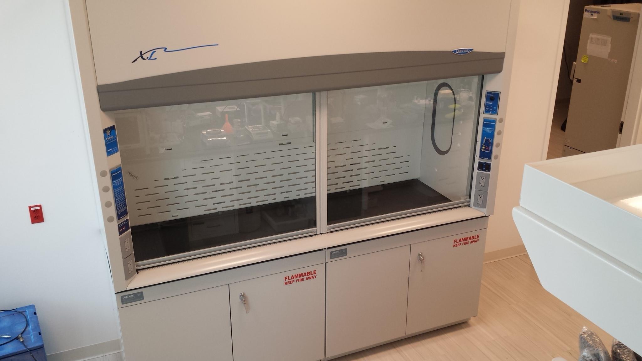 New 8' Labconco Chem Fume Hood - Protector XL