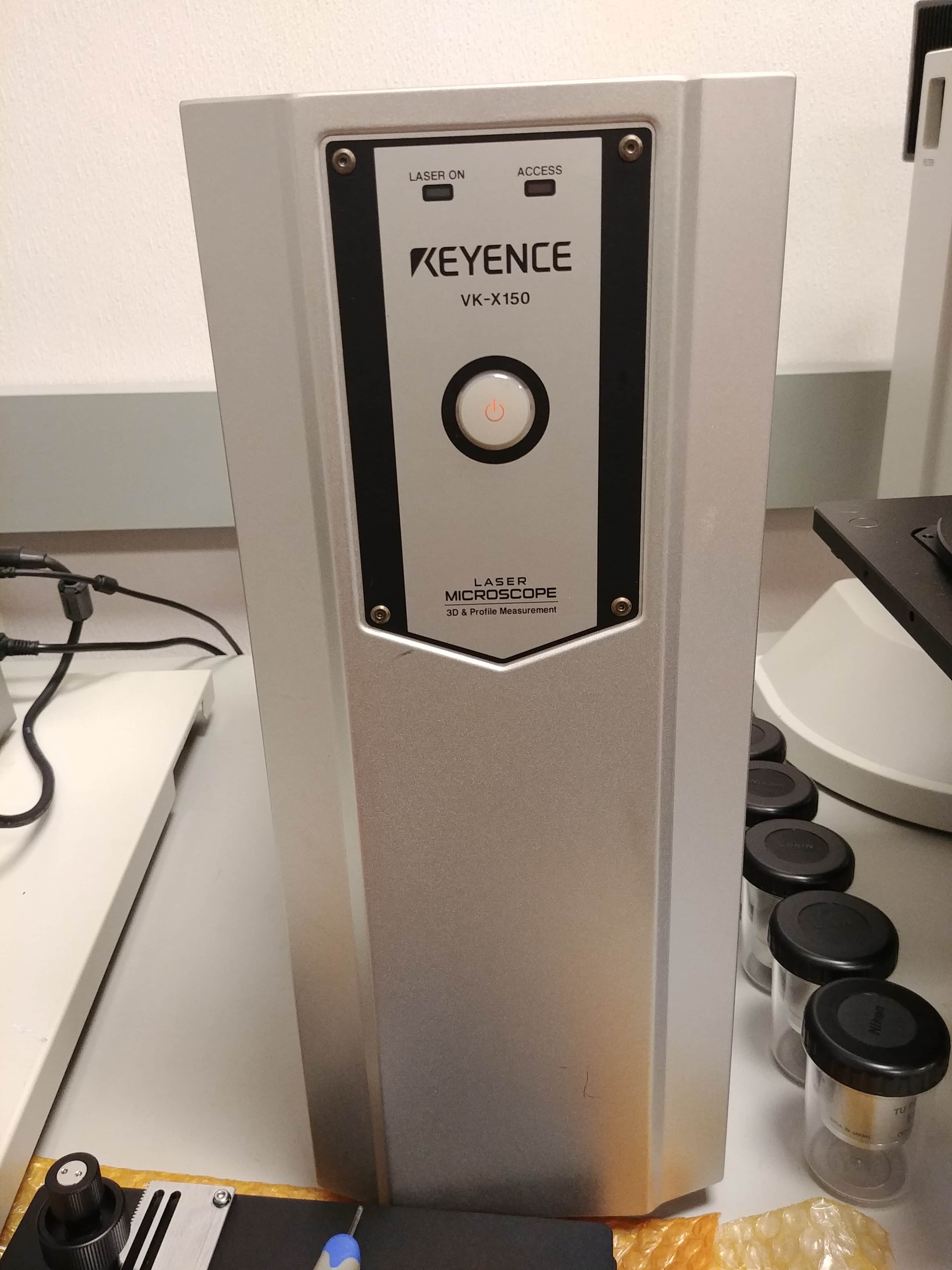 Keyence 3D laser scanning confocal microscope VK-X100, X150