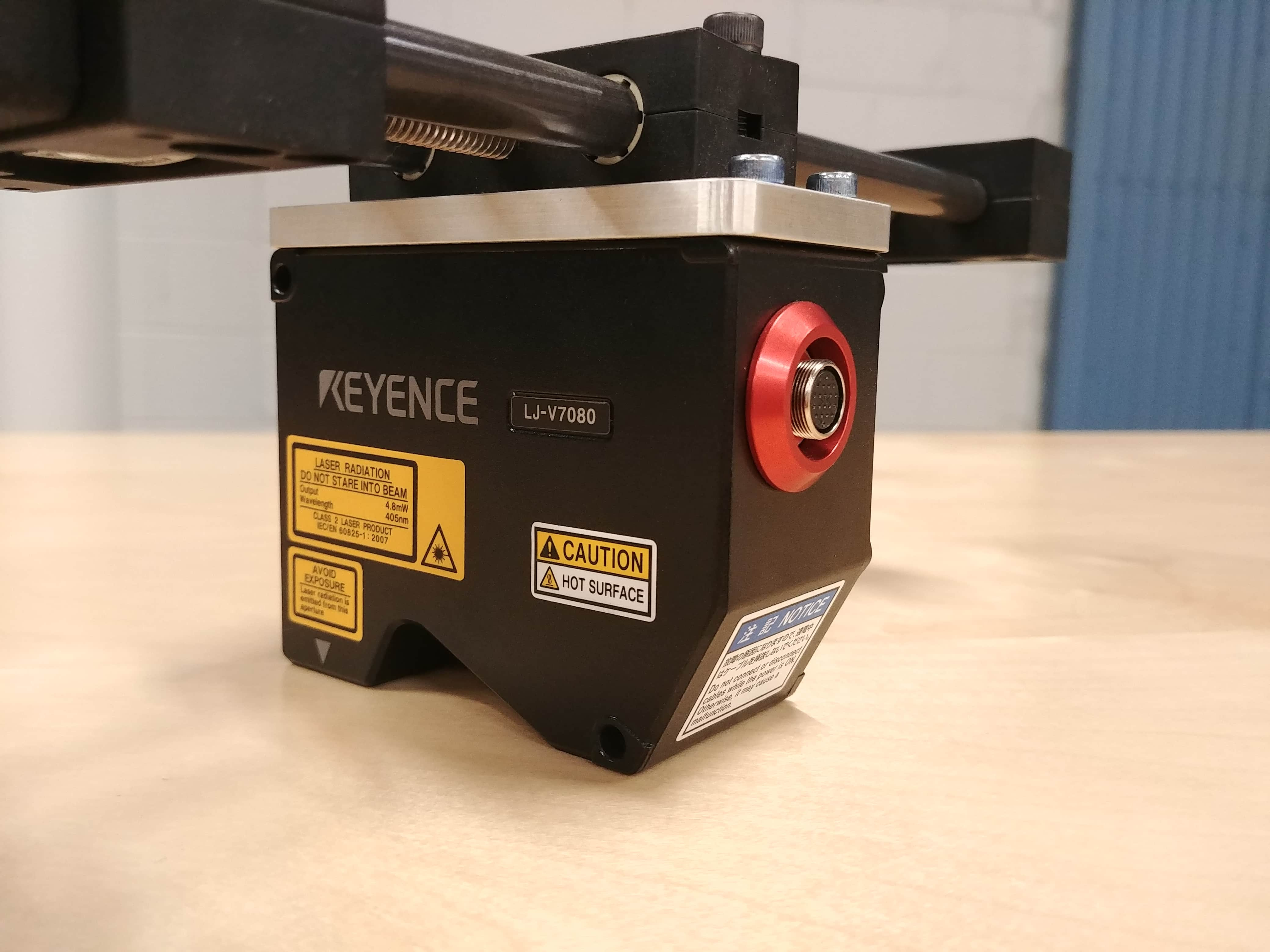 Keyence High speed laser profiler LJ-V7080