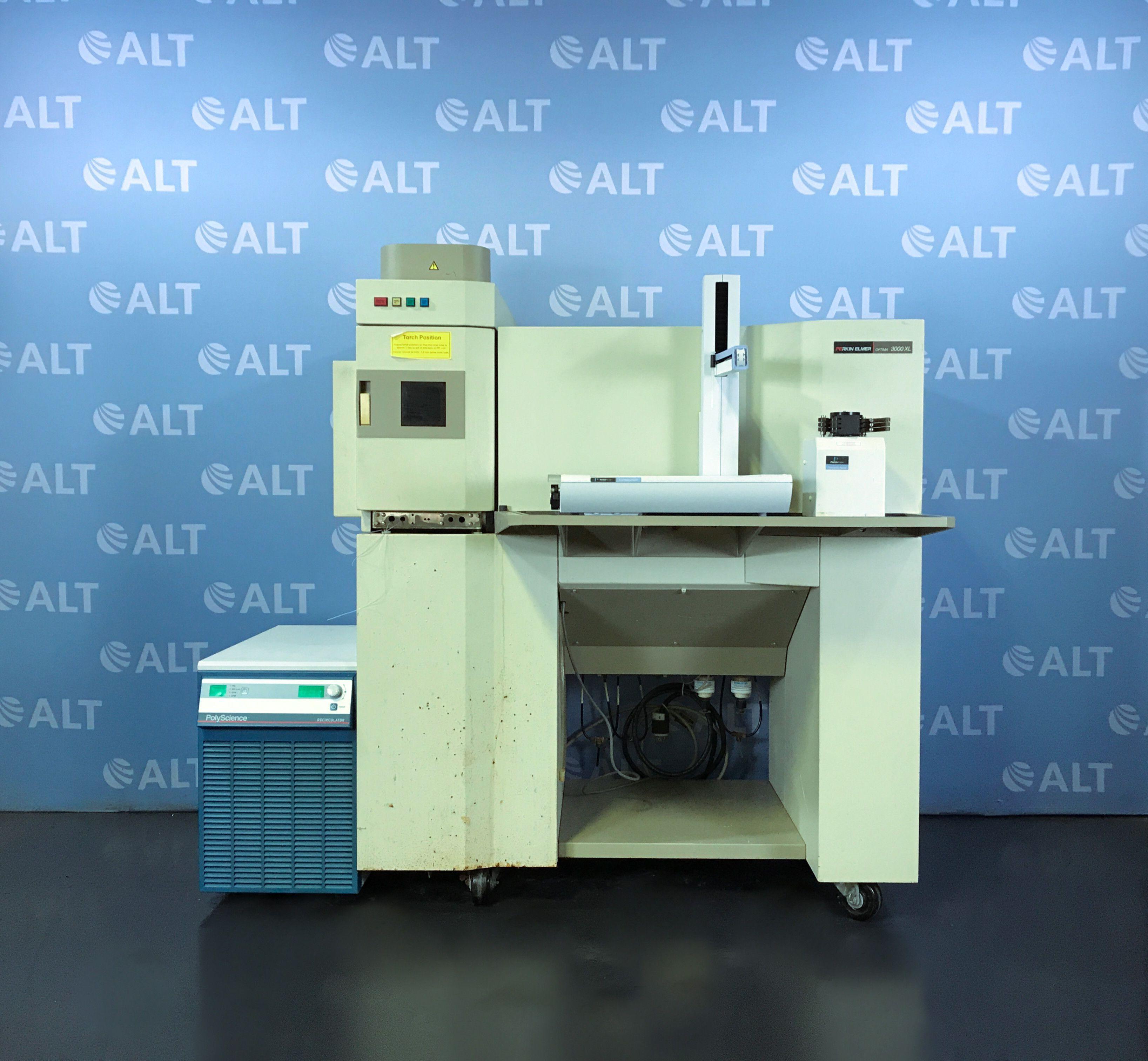 Perkin Elmer Optima 3000 XL ICP-OES Spectrometer with Perkin Elmer S10 Autosampler