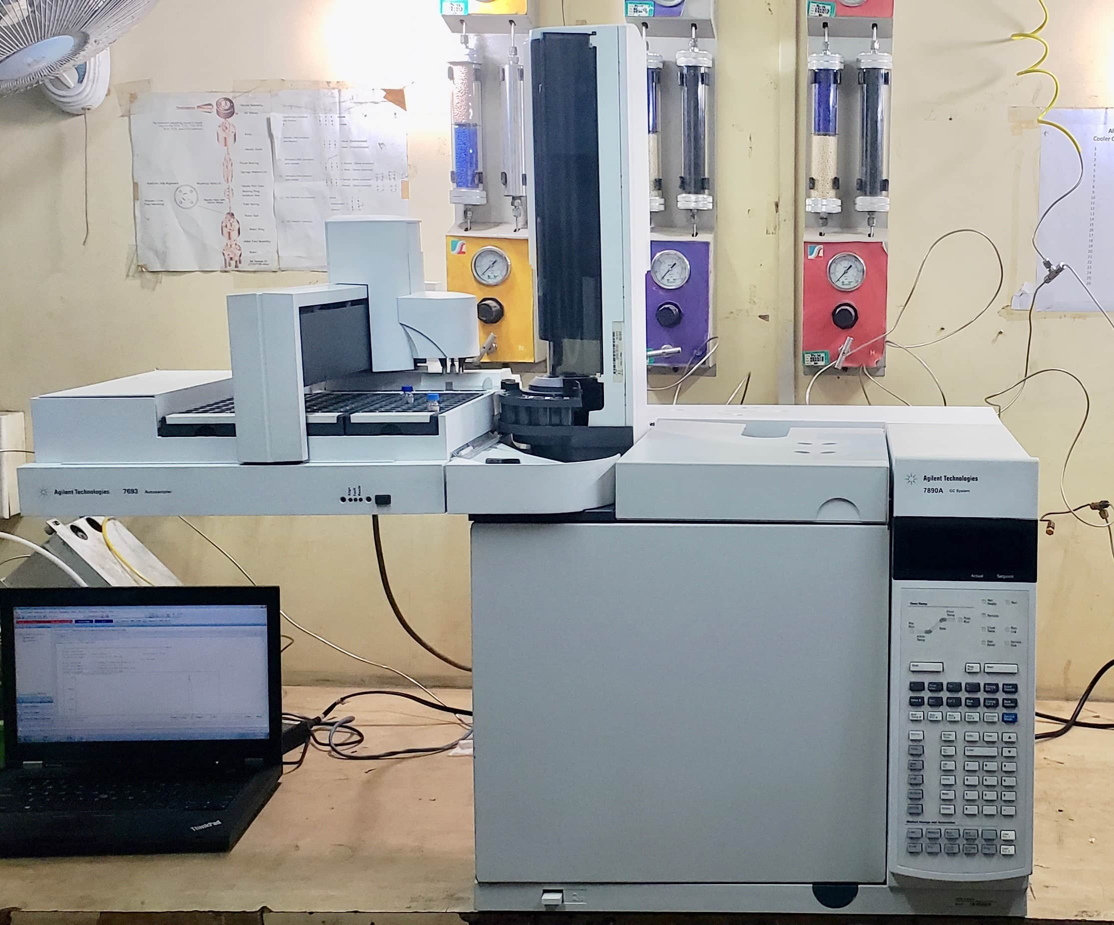 Agilent 7890A GC with 7693A ALS and G4513A Injector