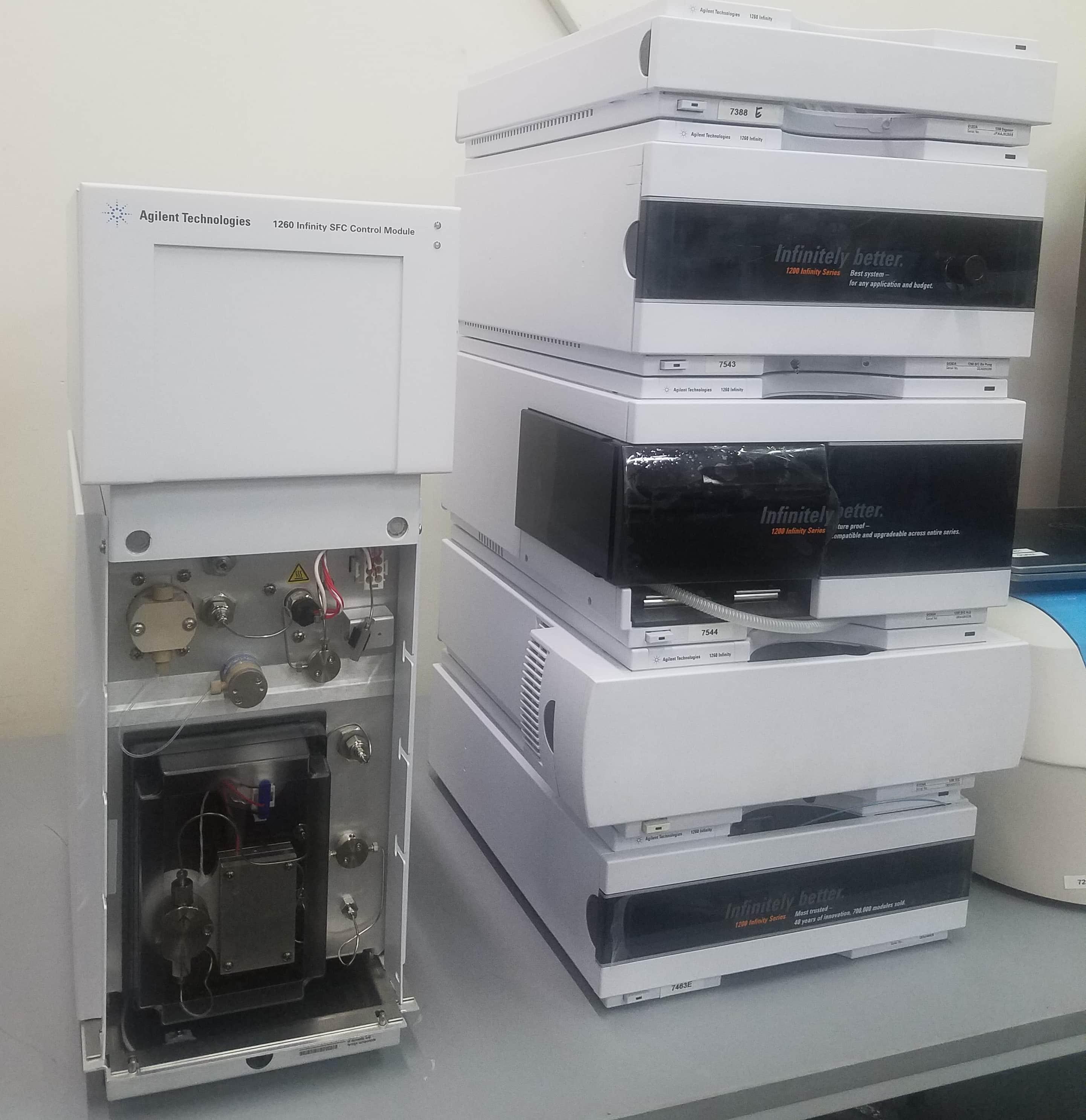 Agilent 1260 SFC Infinity System w/VWD Detector
