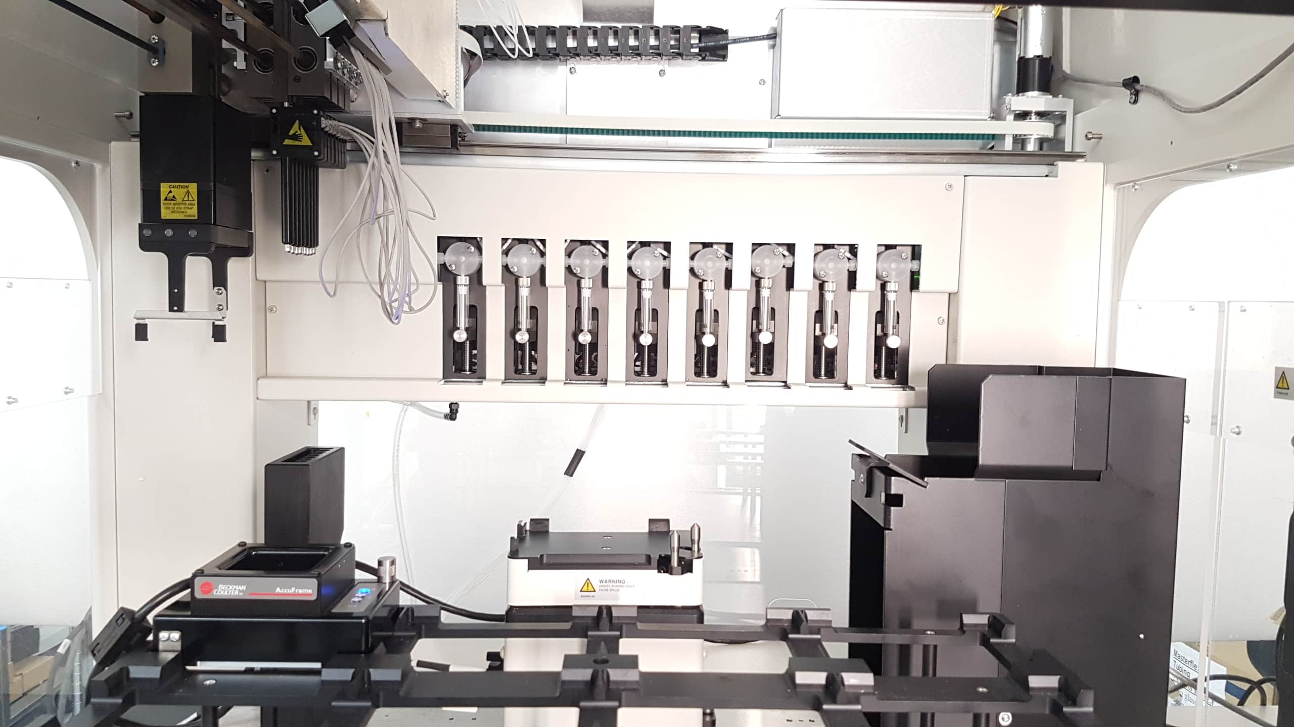 Beckman Coulter Biomek NXp with Span-8 and rotating gripper | For