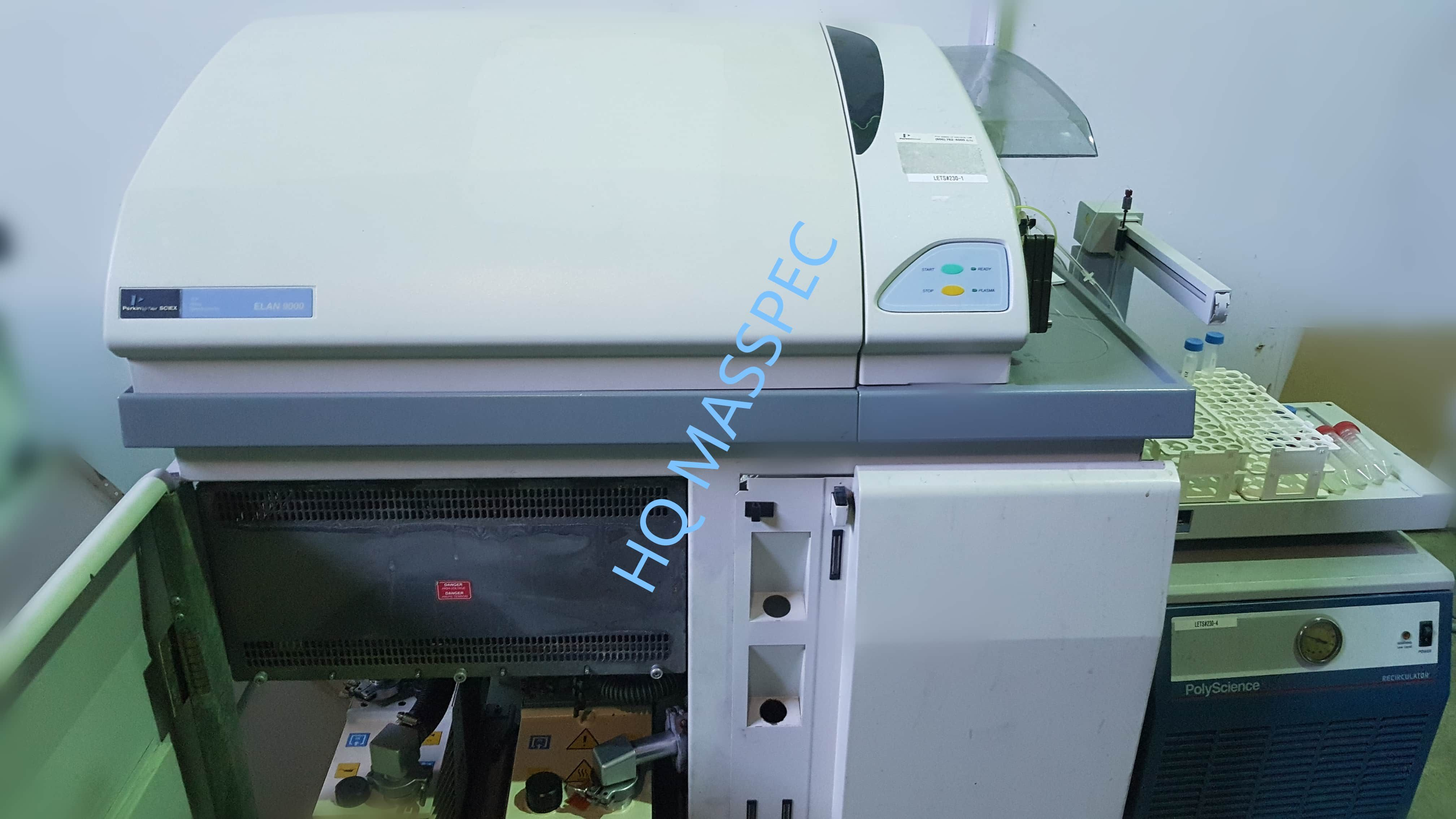 Perkin Elmer Elan 9000 ICP-MS. System is Fully Refurbished with Test Data!