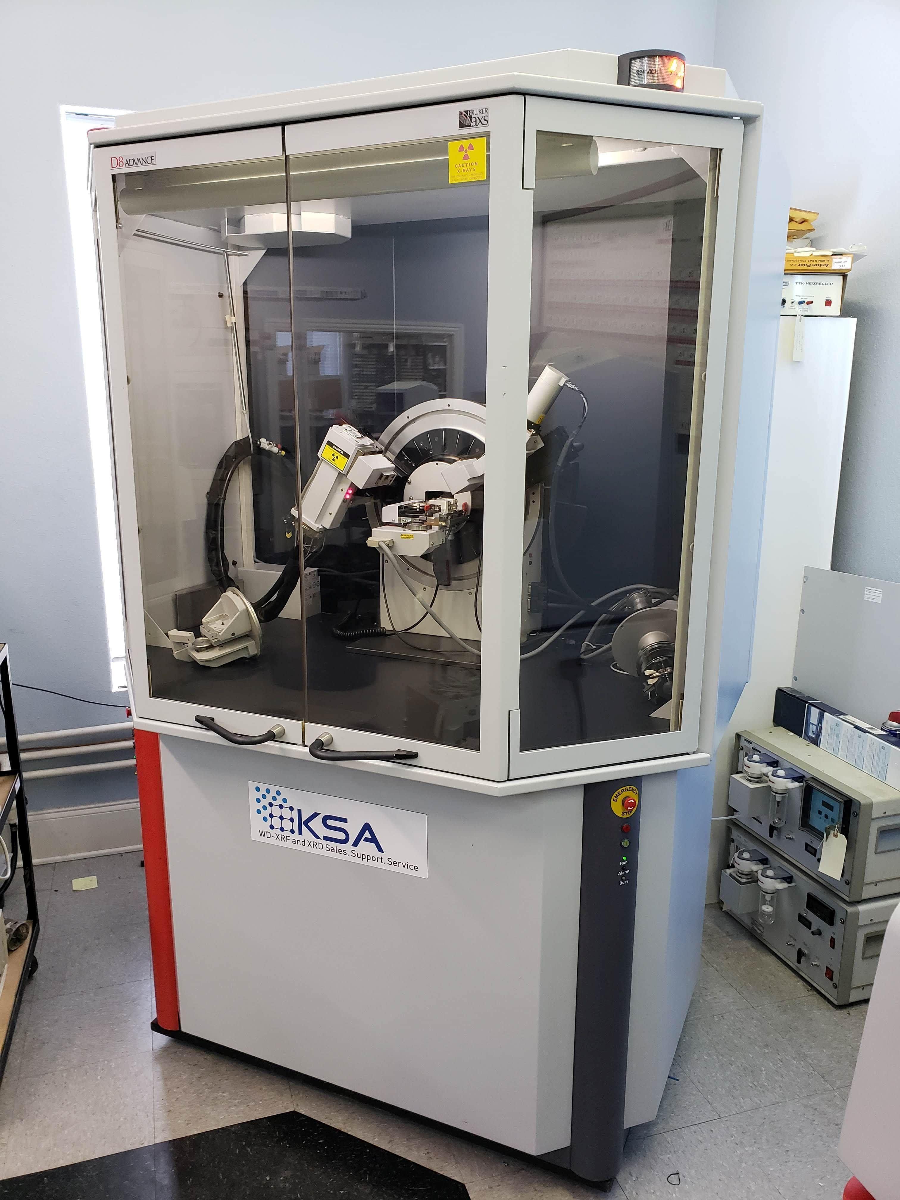 Bruker D8 Advance powder X-ray diffraction (XRD) system