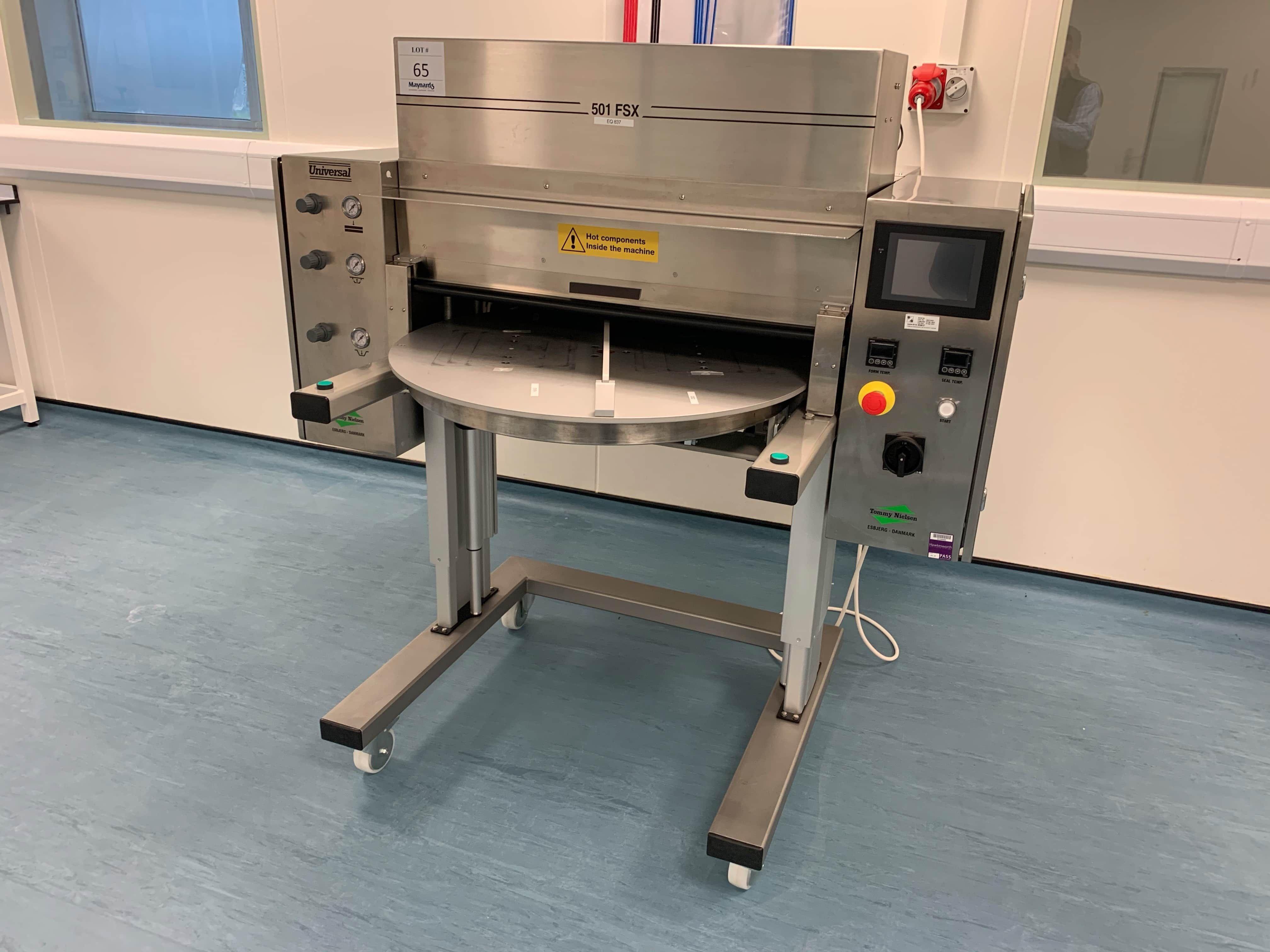 Tommy Nielsen Universal 501 FSXM Semi-automatic Blister Packaging Machine