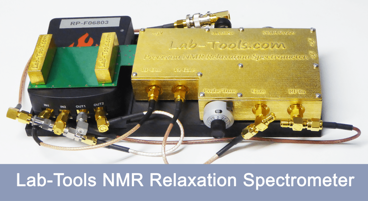 Highly compact precision Time-Domain NMR Spectrometer