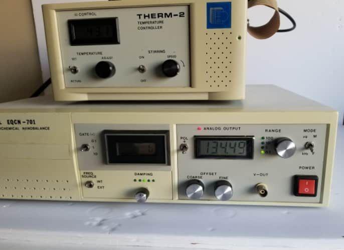 Elchema Electrochemical Nanobalance Model EQCN-701 /Break-up box/Therm-2 For sale