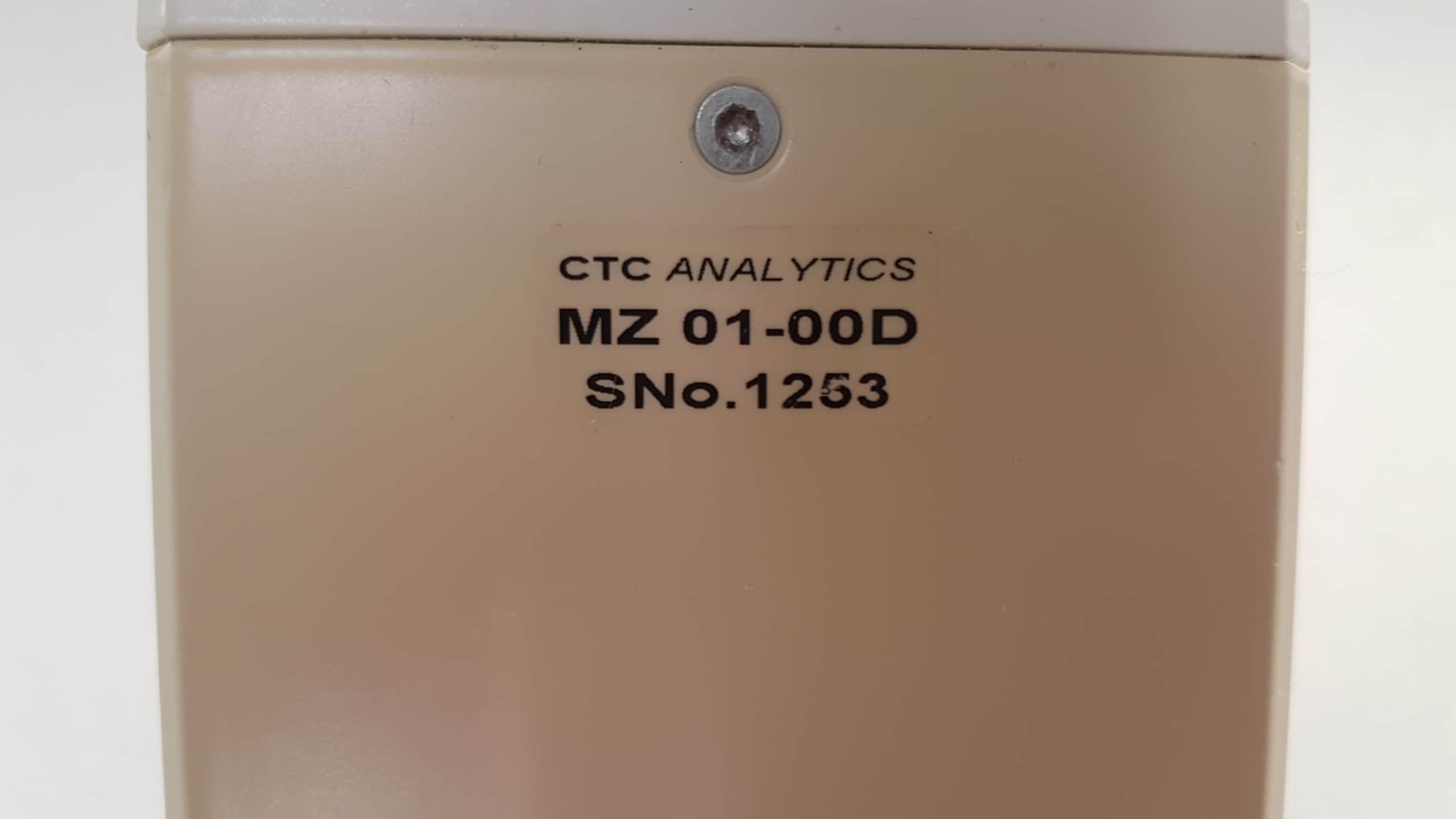 Leap Technologies CTC Analytics HTS Pal Autosampler