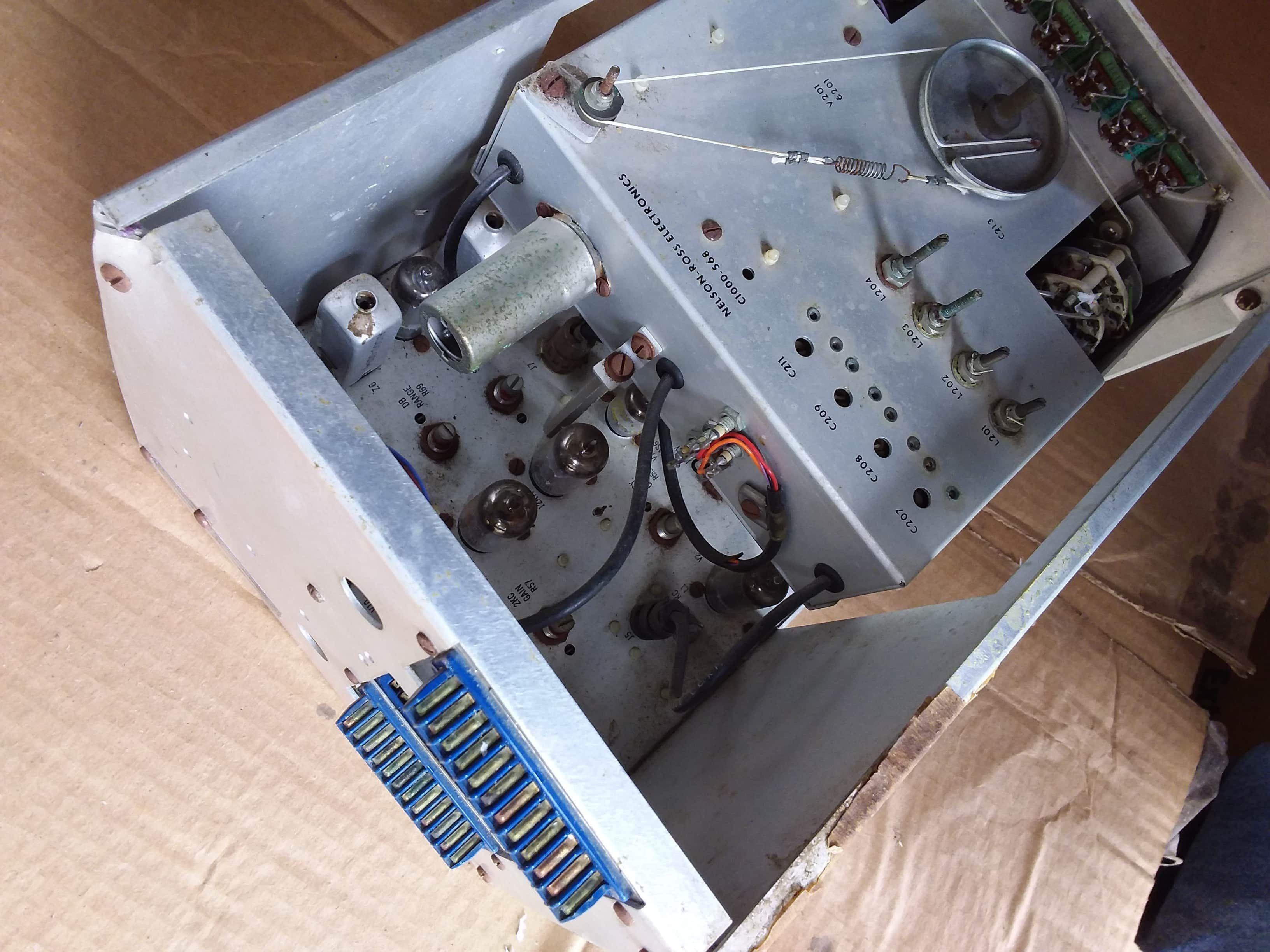 Nelson Ross psa 032 psa 231 spectrum Analyzer Plug In