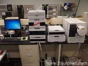 Agilent 6130 Quadrupole LC|MS with 1260 Infinity HPLC System with DAD