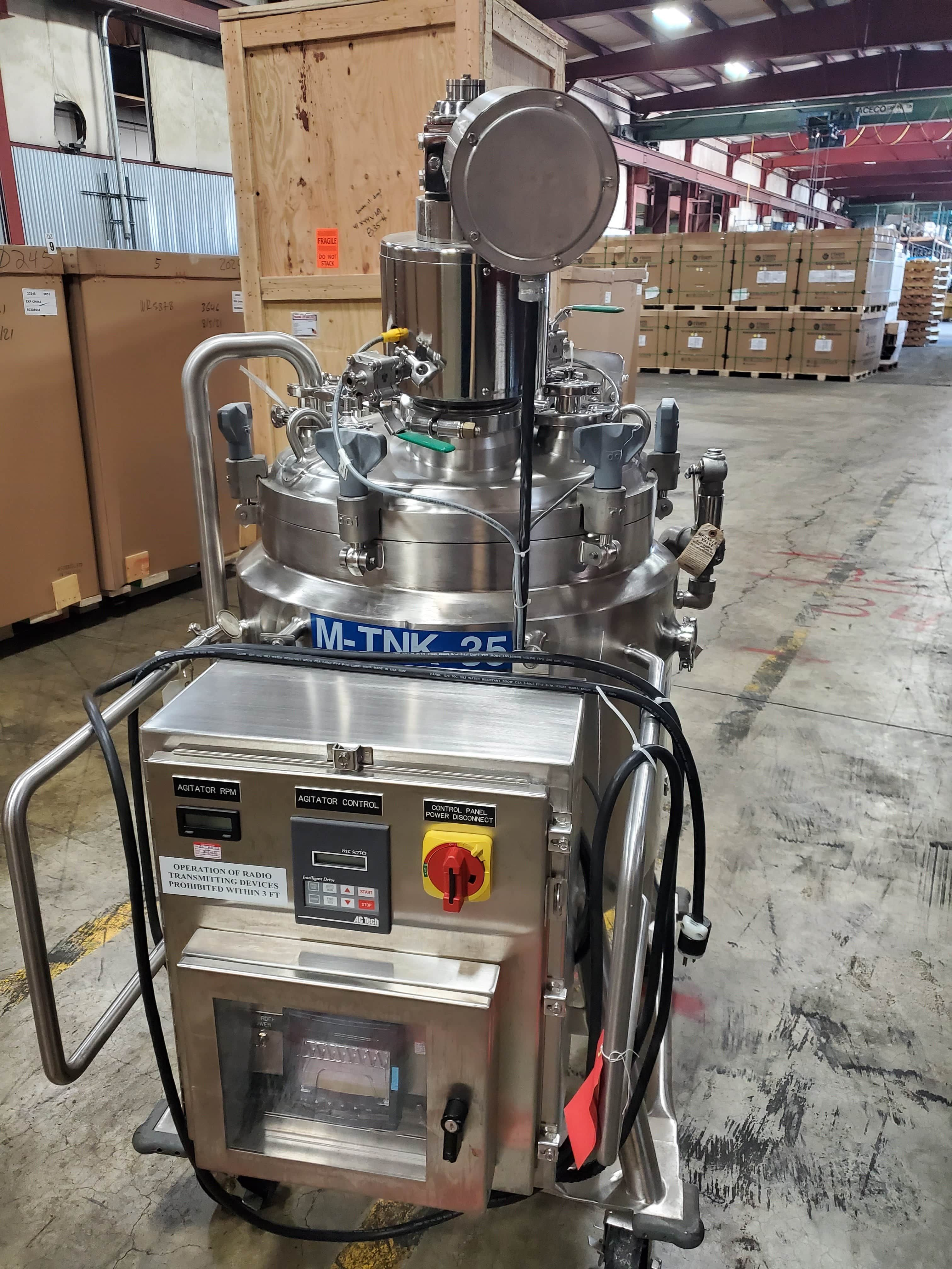 150L DCI jacketed mixing tank