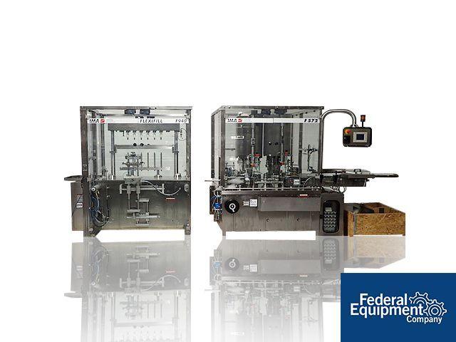 IMA Monoblock Filler/Plugger/Capper, Model F940