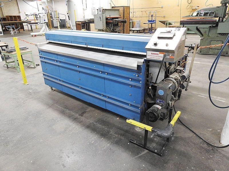 "Sheeters ""Used 72″ Rosenthal sheeter.Model #WA-S-6-HUBSHEAA-24 sheeter with unwind.Heavy duty"